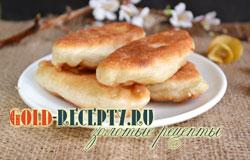 Пирожки с яблоком на дрожжевом тесте, вкусные дрожжевые пирожки с яблочной начинкой