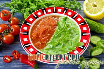 Гаспачо рецепт с черри и рукколой