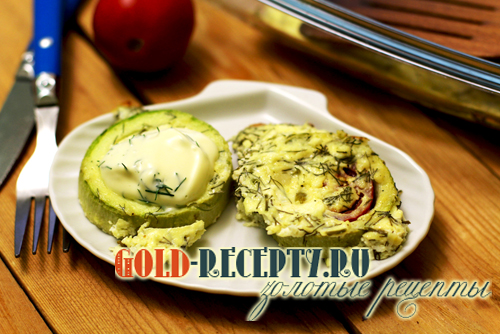 Кабачки в духовке с помидорами рецепт с фото