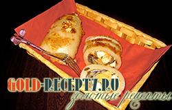 Кальмары фаршированные грибами  рецепт с фото