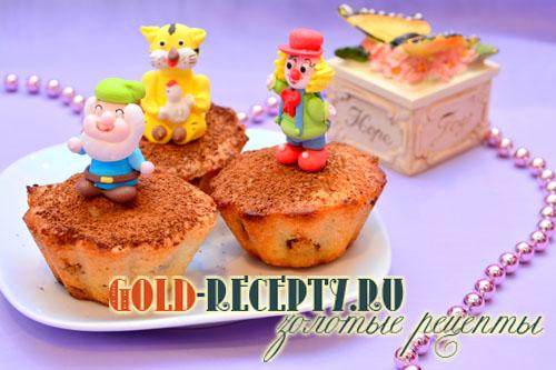 Кексы с изюмом рецепт с фото, рецепт кексов в формочках
