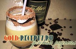 Алкогольный молочный коктейль с ликером