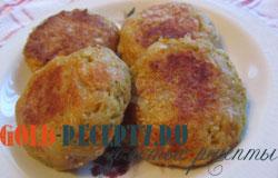 Котлеты овощные  диетические рецепт с фото