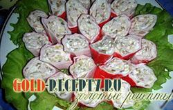 Фаршированные крабовые палочки  рецепты с фото