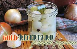 Маринованный лук на зиму рецепт с фото вкусной закуски