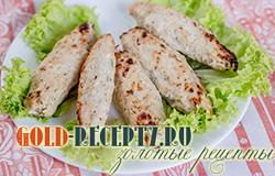 Люля-кебаб из курицы в духовке пошаговый рецепт с фото