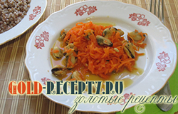 Мидии постные с морковью, что приготовить в пост
