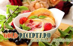 Оладьи на кислом молоке рецепт с ягодами