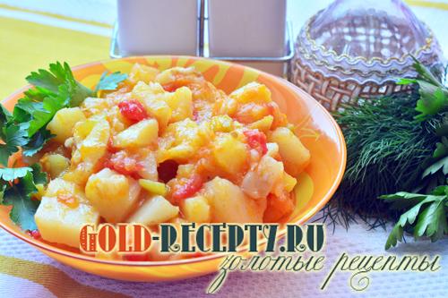 Овощное рагу с картофелем, как вкусно приготовить овощное рагу