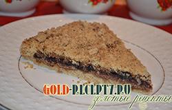Пирог насыпной рецепт пирога с вареньем