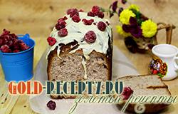 Пирог в хлебопечке с малиной, рецепт выпечки в хлебопечке
