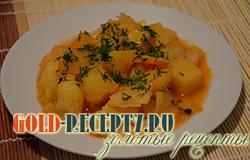 Постная картошка тушеная с овощами, пошаговый рецепт с фото