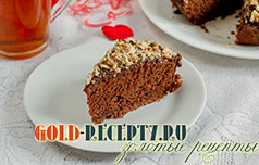 Постный пирог рецепт шоколадного пирога в пост