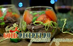 Салат из сердца к новогоднему столу