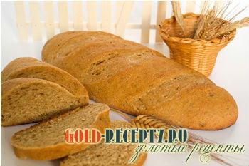 Хлеб ржаной с патокой