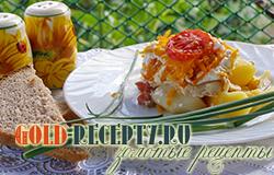 Запеченный хек в духовке рецепт, как приготовить филе хека в духовке с картошкой и овощами