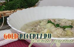 Рыбный суп из консервов рецепт с фото