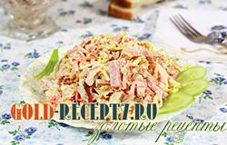 Салат с пекинской капустой и курицей рецепт с фото