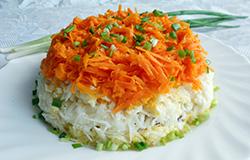 Салат из черной редьки рецепт с фото