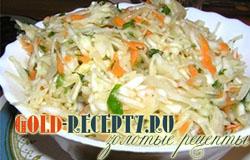 Салат из капусты и моркови, как в столовой рецепты