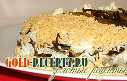 Салат из морской капусты рецепт вкусного и простого салата с фото
