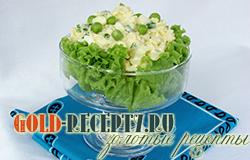 Салат с плавленым сыром и яйцом рецепт