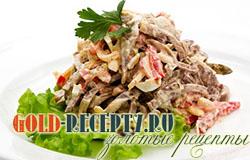 Салат с языком рецепты, салат из говяжьего языка, из свиного языка