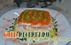 Салат «Обжорка» рецепт салата обжорка с шинкой