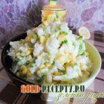 Салат из пекинской капусты рецепт с ананасами, куриным филе и кукурузой