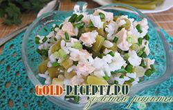 Салат с курицей  диетический рецепт