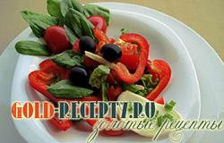 Салат с моцареллой рецепты с фото