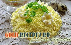 Салат из печени трески рецепт с фото пошаговый