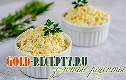 Салат с плавленным сырком и яйцом простой салат рецепт с фото
