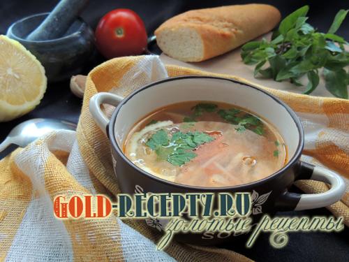 Суп по-турецки с вермишелью, как приготовить куриный суп с вермишелью