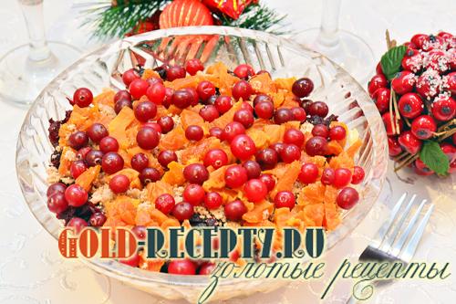 Салат на праздничный стол, свекольный салат рецепт