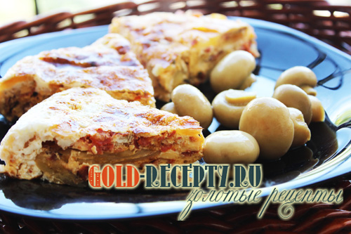 Тортилья рецепт с фото, тортилья испанская с колбасой