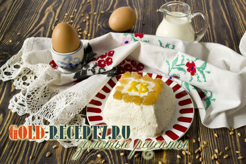 Творожная пасха рецепт, с фото пошагово