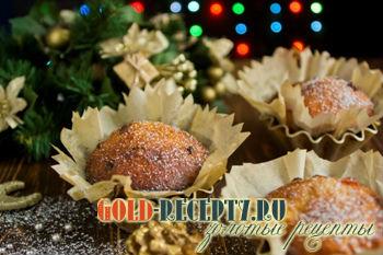 Творожные кексы рецепт с изюмом и цукатами