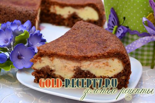 Творожный пирог в мультиварке, пирог в мультиварке Панасоник