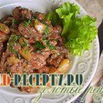 Утиная грудка тушеная  с ананасами рецепт с фото