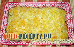 Запеканка картофельная с грибами, рецепт картофельной запеканки в духовке с фото