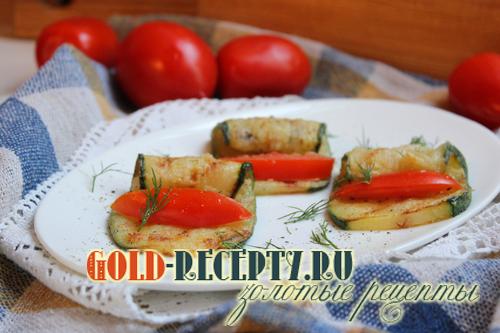 Жареные кабачки рецепт с фото, кабачки жареные с помидорами