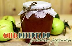 Желе из яблок на зиму, рецепт с фото