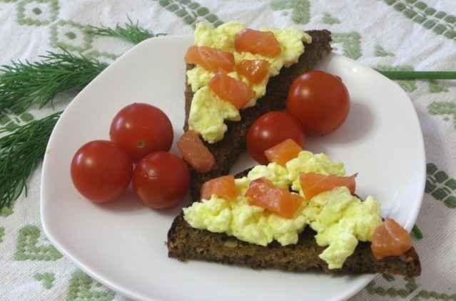 byteri s omletom