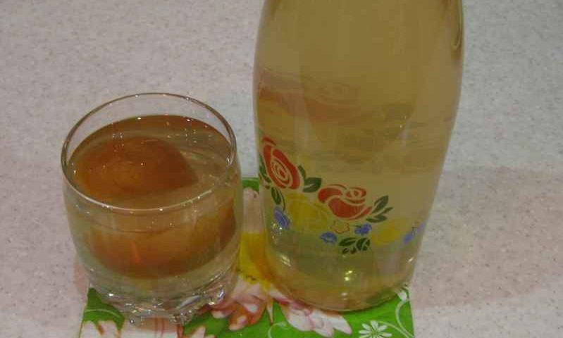 Яблочный компот — фото рецепт