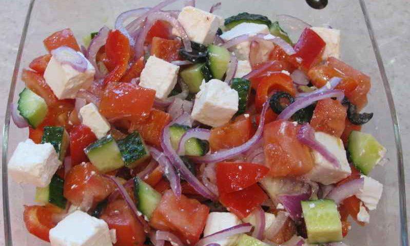 Салат «Греческий» — фото рецепт