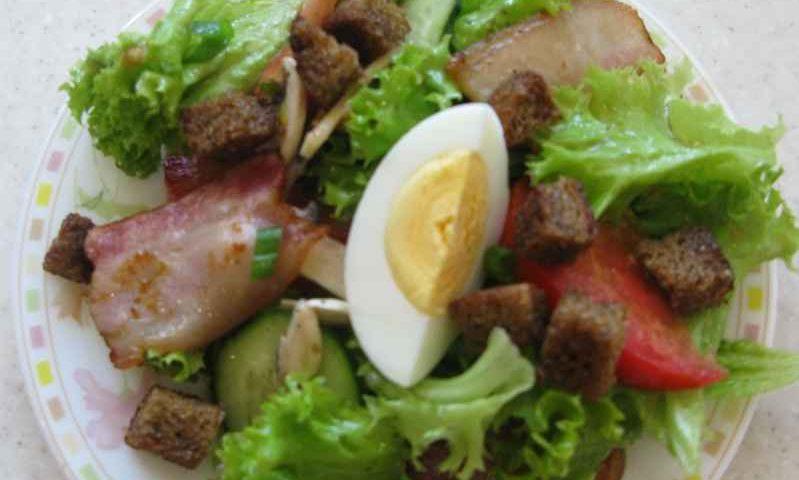 Салат овощной с заправкой «Гранд»