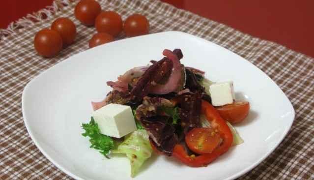 salat s baklazanom