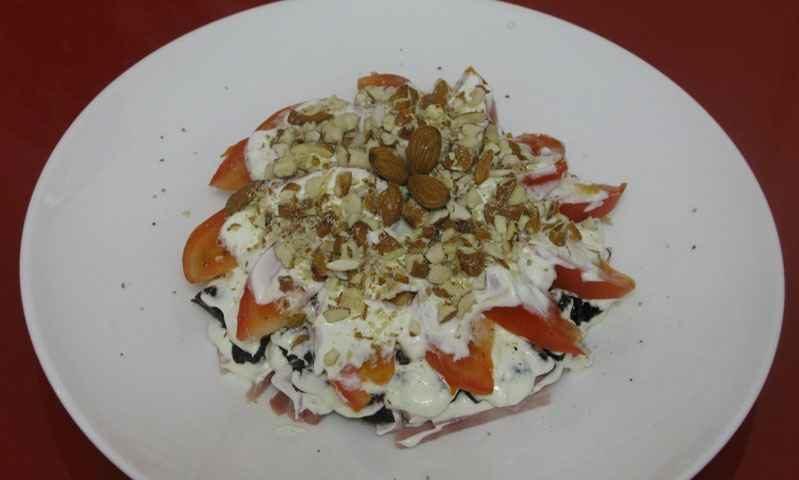 Салат с черносливом — фото рецепт