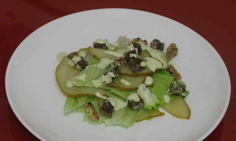 Салат с грушей — фото рецепт